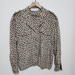 Vintage - Chaus | Leopard Button Down